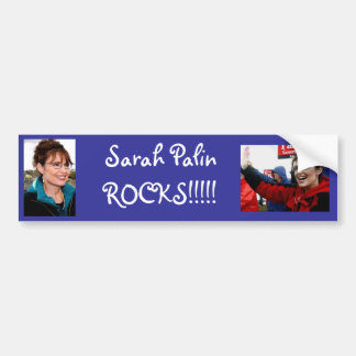 Sarah Palin ROCKS!!!!! Bumper Sticker