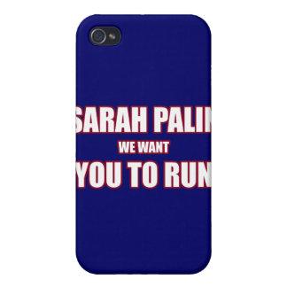 Sarah Palin Run 2012 Cases For iPhone 4