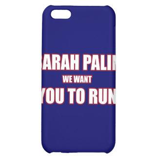 Sarah Palin Run 2012 Cover For iPhone 5C