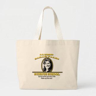 Sarah Palin Science School Canvas Bag