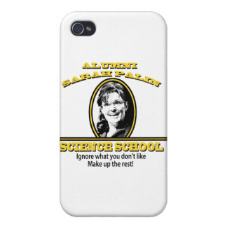 Sarah Palin Science School iPhone 4/4S Cover