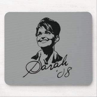 Sarah Palin Signature Tee Mouse Pad