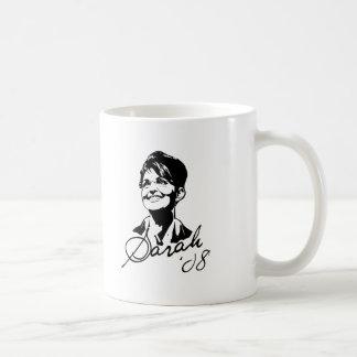 Sarah Palin Signature Tee Mugs