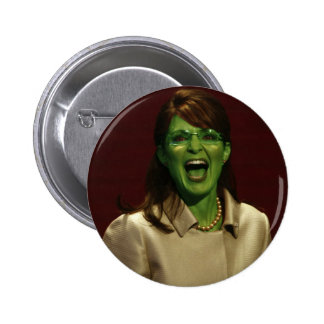 Sarah Palin the Witch 6 Cm Round Badge