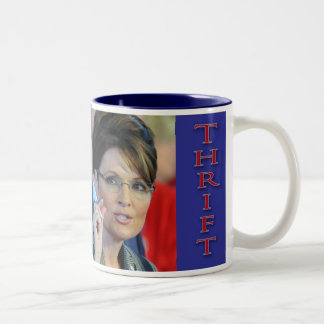 Sarah Palin Thrift and Charity Mug