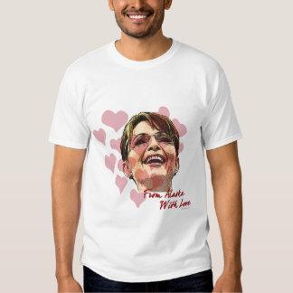 Sarah Palin Valentine Tshirt