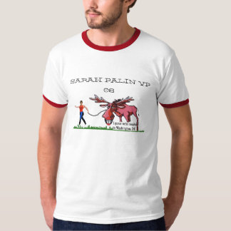 Sarah Palin VP and Moose T shirt