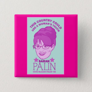 Sarah Palin, Woman's Touch Button