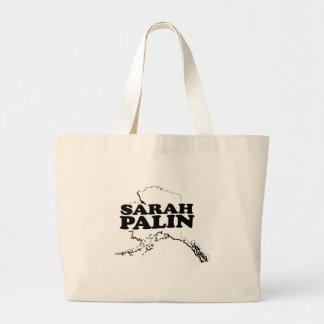 SARAH PALIN'S ALASKA CANVAS BAGS
