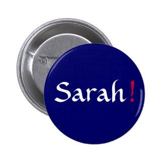 Sarah! Political Button
