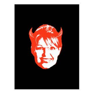 Sarah Satan Postcard