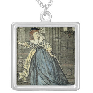 Sarah Siddons  as Lady Macbeth Silver Plated Necklace