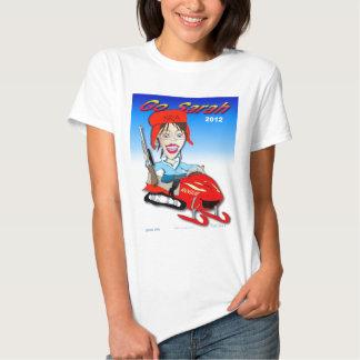 Sarah Snow Machine T Shirts