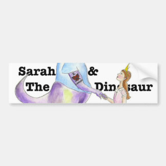 Sarah & The Dinosaur Bumper Sticker