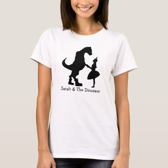 Sarah & The Dinosaur Silhouette Women's T-Shirt
