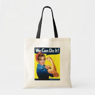 Sarah The Riveter Tote Bag