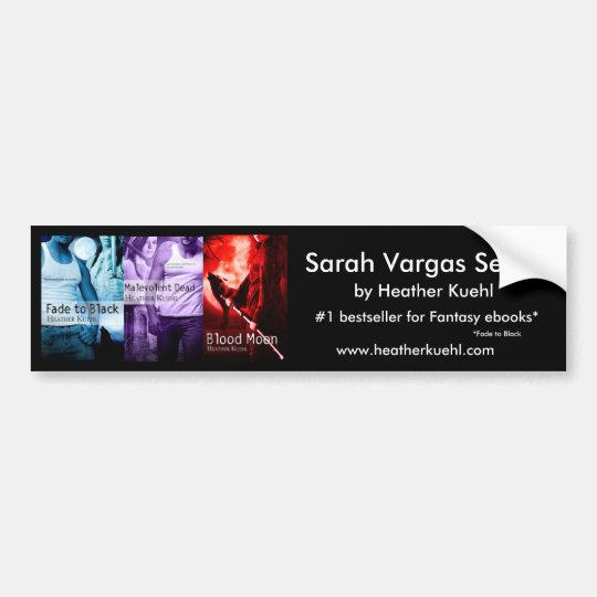Sarah Vargas series bumpersticker Bumper Sticker