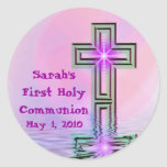 Sarah's First Holy Communion Stickers