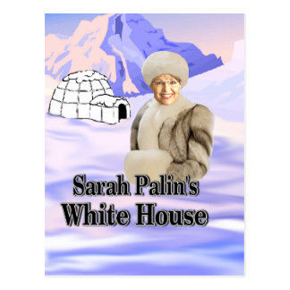 sarahs white house postcard