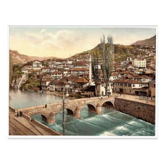 Sarajcvo (i.e., Sarajevo), looking toward Alifakov Postcard