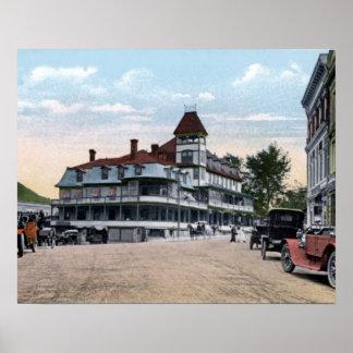 Saranac Lake New York Berkeley House Posters