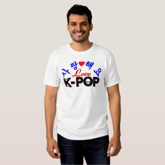♪♥SaRangHaeYo-Love KPop Men's Basic T-Shirt♥♫ Shirt