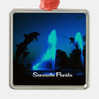 Sarasota Florida Christmas Ornament