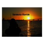 Sarasota Florida Sunset Poster