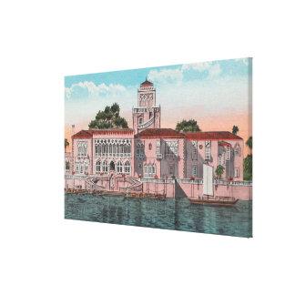 Sarasota, Florida - View of John Ringling Canvas Print