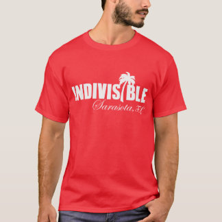SARASOTA Indivisible men's t-shirt wht logo