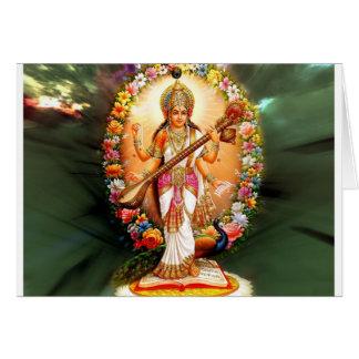 Saraswati Card