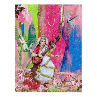 Saraswati Postcard