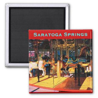 Saratoga Carousel Magnet