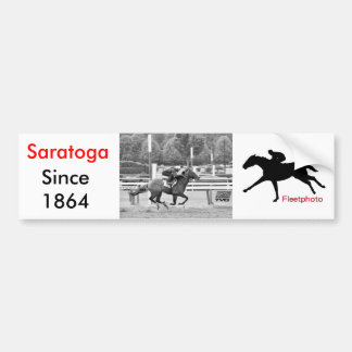 Saratoga Morning Workouts Bumper Stickers