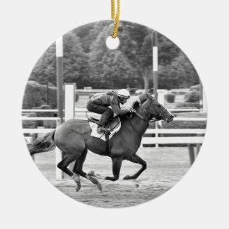 Saratoga Morning Workouts Christmas Ornaments