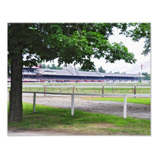 Saratoga Race Course and Clare Court Art Photo