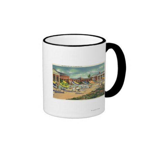 Saratoga Spa Recreation Unit View Coffee Mugs
