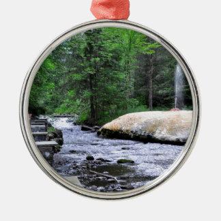 Saratoga Spa State Park-Geyser Creek Christmas Ornament