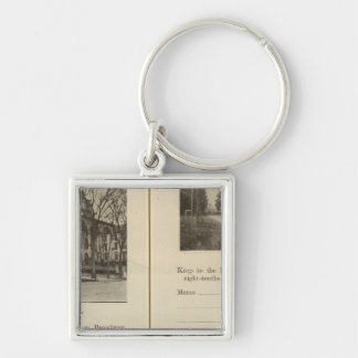Saratoga Springs Dunning Street Key Ring