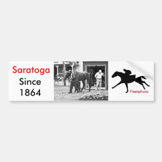 Saratoga Stables Bumper Sticker
