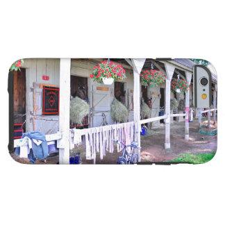 "Saratoga Stables ""Horse Haven"" Tough iPhone 6 Case"