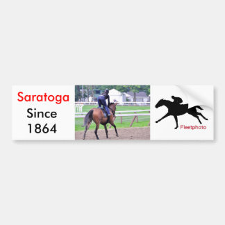 Saratoga Workouts Since 1863 Bumper Sticker