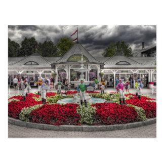 Saratoga's 12 Lawn Jockeys Postcards