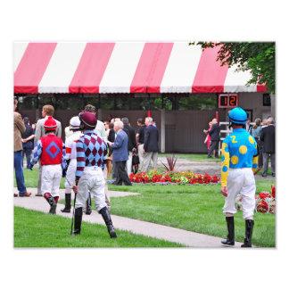 Saratoga's Top Jockeys heading to the Paddock Photo Art
