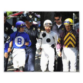 Saratoga's Top Jockeys heading to the Paddock Photo