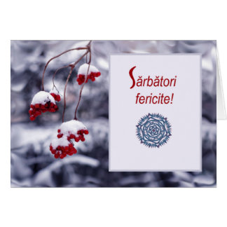 Sarbatori fericite, Romanian Christmas Card