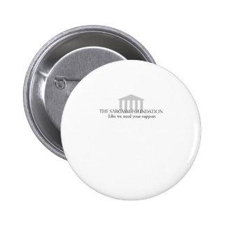 Sarcasm Foundation 6 Cm Round Badge
