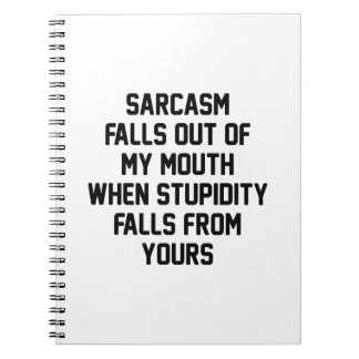 Sarcasm Stupidity Notebooks