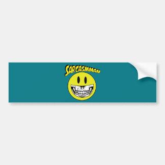 Sarcasmman Bumper Sticker