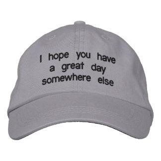 Sarcastic Baseball Hat Baseball Cap